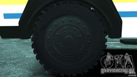 RG-12 Nyala - South African Police Service для GTA 4 вид сзади