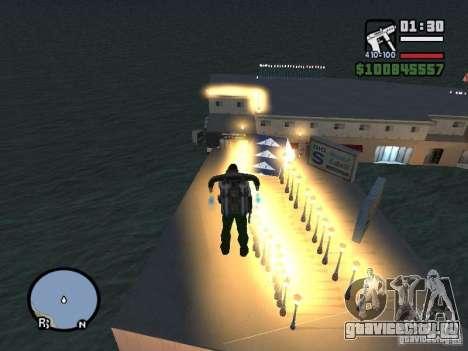 Night moto track для GTA San Andreas третий скриншот