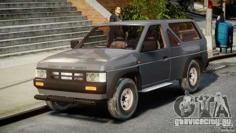 Nissan Terrano для GTA 4