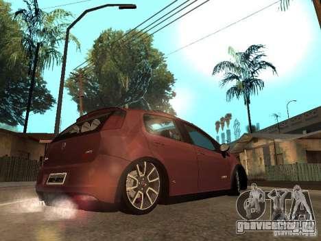 Fiat Punto T-Jet Edit для GTA San Andreas вид слева