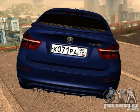 BMW X6 M E71 для GTA San Andreas вид сбоку