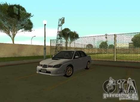Subaru Impreza WRX STI-Street Racing для GTA San Andreas