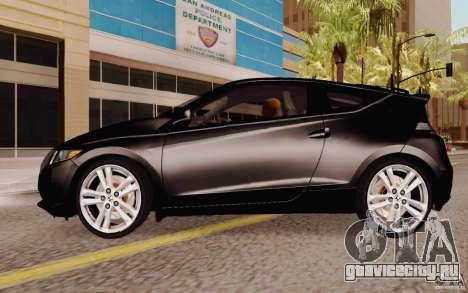 Honda CR-Z 2010 V3.0 для GTA San Andreas вид слева
