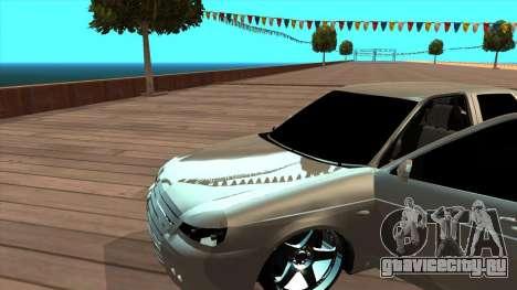 ВАЗ 2172 Приора для GTA San Andreas вид слева