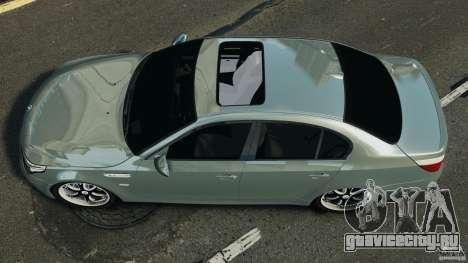 BMW M5 E60 2009 v2.0 для GTA 4 вид справа