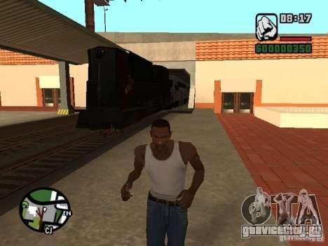 Поезд combine из игры Half-Life 2 для GTA San Andreas вид слева
