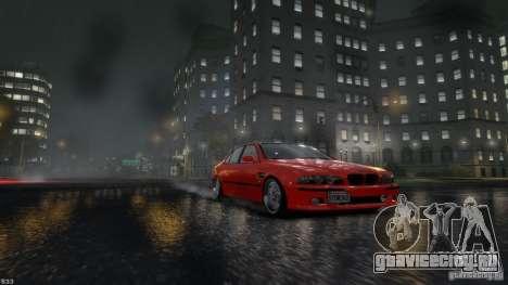 BMW M5 E39 BBC v1.0 для GTA 4 вид слева