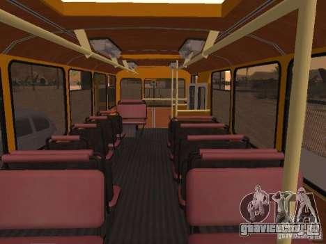 ЛиАЗ 677 для GTA San Andreas вид сбоку