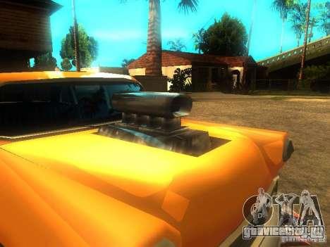 Crazy CABBIE для GTA San Andreas вид слева