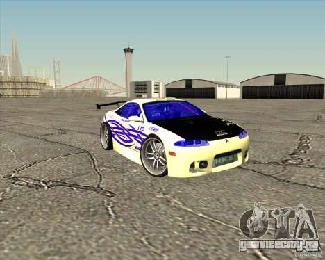 Mitsubishi Eclipse street tuning для GTA San Andreas вид снизу