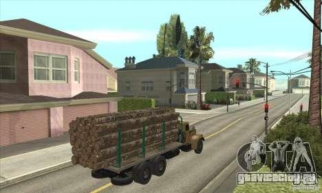 КрАЗ - 257 для GTA San Andreas вид справа