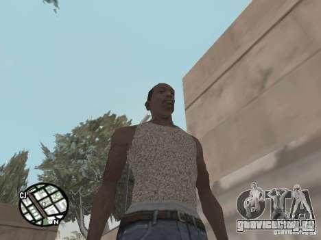 Новая майка Карла для GTA San Andreas третий скриншот