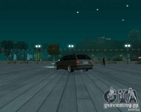 BMW E36 Touring для GTA San Andreas вид слева