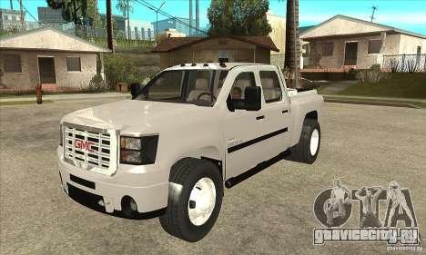 GMC 3500 HD Sierra Duramax Diesel 2010 для GTA San Andreas