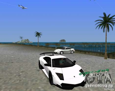 Lamborghini Murcielago LP670-4 SV для GTA Vice City