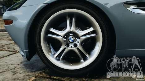 BMW Z8 2000 для GTA 4 вид сбоку