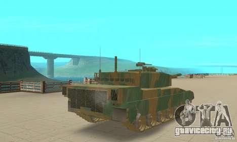 Танк JGSDF Type90 для GTA San Andreas вид слева