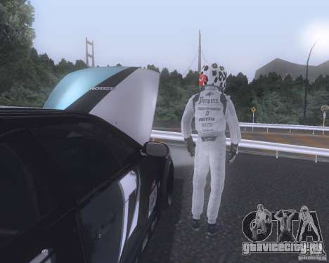Matt Powers NFS Team для GTA San Andreas второй скриншот