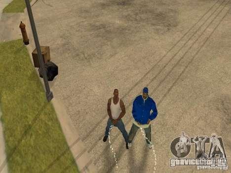 Можно сесть, курить, пить виски, тошнить, писать для GTA San Andreas пятый скриншот
