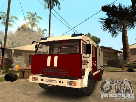 КамАЗ 43253 Розенбауер для GTA San Andreas