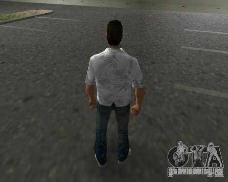 Белая рубашка для GTA Vice City третий скриншот