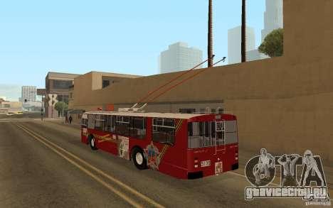 ЗиУ 682 для GTA San Andreas вид сзади слева