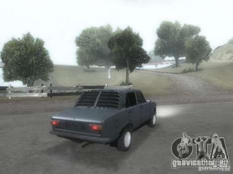 ВАЗ 2101 для GTA San Andreas вид сверху