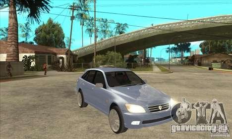 Toyota Alteza Wagon для GTA San Andreas вид сзади