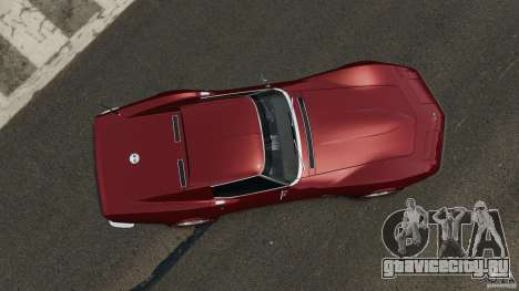Chevrolet Corvette Stringray 1969 v1.0 [EPM] для GTA 4 вид справа