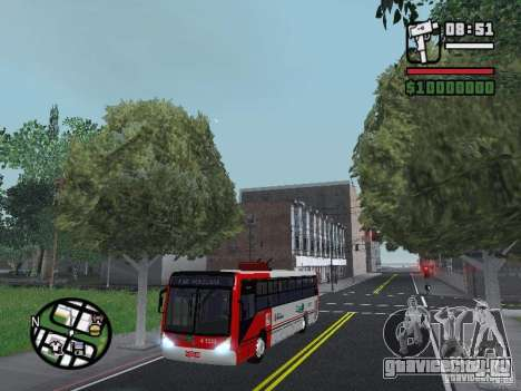 Caio Millennium TroleBus для GTA San Andreas