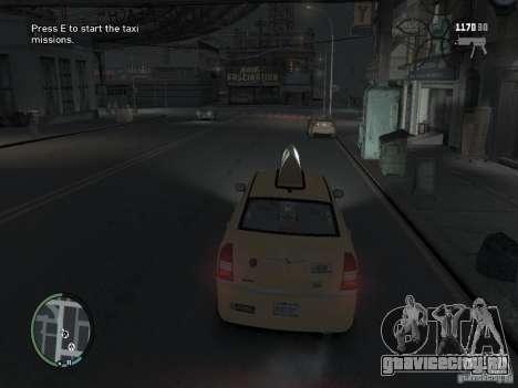 Миссия таксиста для GTA 4 для GTA 4