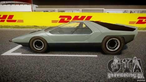 Alfa Romeo Carabo для GTA 4 вид слева