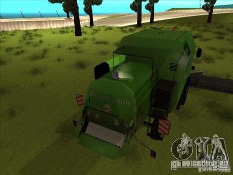 Deutz Harvester для GTA San Andreas вид справа