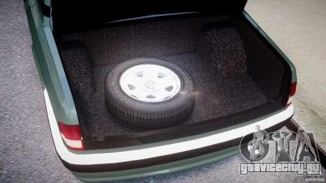 ГАЗ-31105 для GTA 4 вид снизу