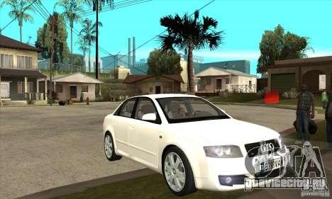 Audi S4 2004 для GTA San Andreas вид сзади