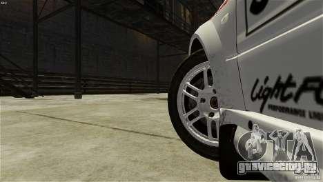 Mitsubishi Lancer Evolution IX RallyCross для GTA 4 вид сзади