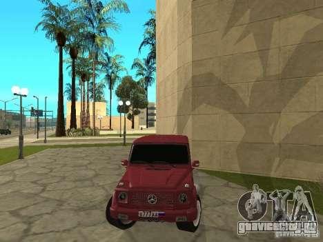 Mercedes-Benz G500 1999 Депутат для GTA San Andreas вид справа
