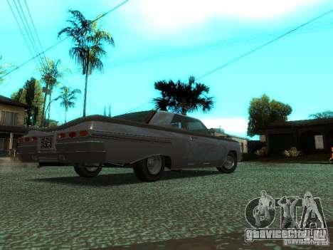 Voodoo из GTA IV для GTA San Andreas вид сзади слева