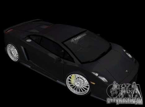Lamborghini Gallardo Hamann Tuning для GTA Vice City вид слева