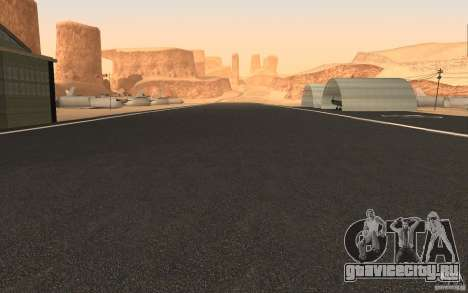 New Verdant Meadows Airstrip для GTA San Andreas второй скриншот