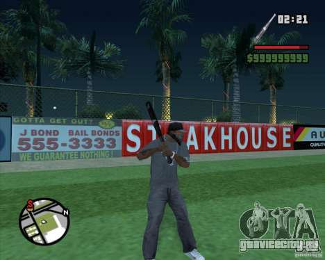 Bat HD для GTA San Andreas третий скриншот