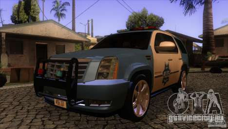 Cadillac Escalade 2007 Cop Car для GTA San Andreas