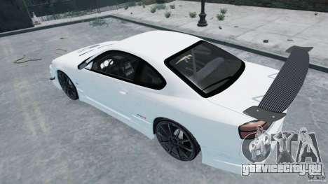 Nissan Silvia S15 для GTA 4 вид слева