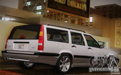 Volvo 850 Estate Turbo 1994 для GTA San Andreas вид слева