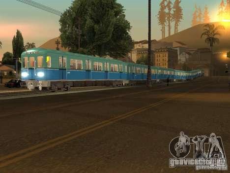 Метро типа Е для GTA San Andreas вид слева