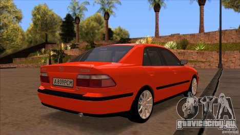 Mazda 626 Stock для GTA San Andreas вид сбоку