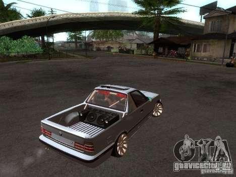 BMW E34 Pickup для GTA San Andreas вид справа