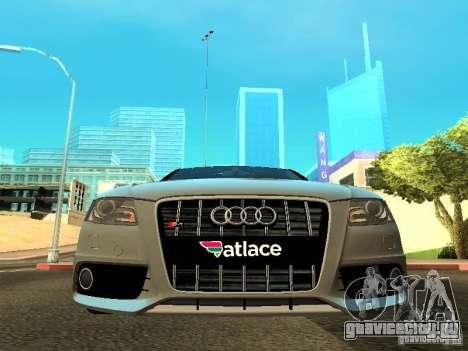 Audi S4 2010 для GTA San Andreas вид сбоку