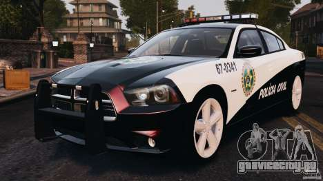 Dodge Charger RT Max Police 2011 [ELS] для GTA 4