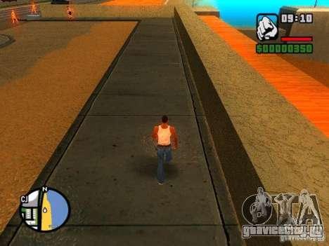 Текстуры района Восточный пляж для GTA San Andreas второй скриншот